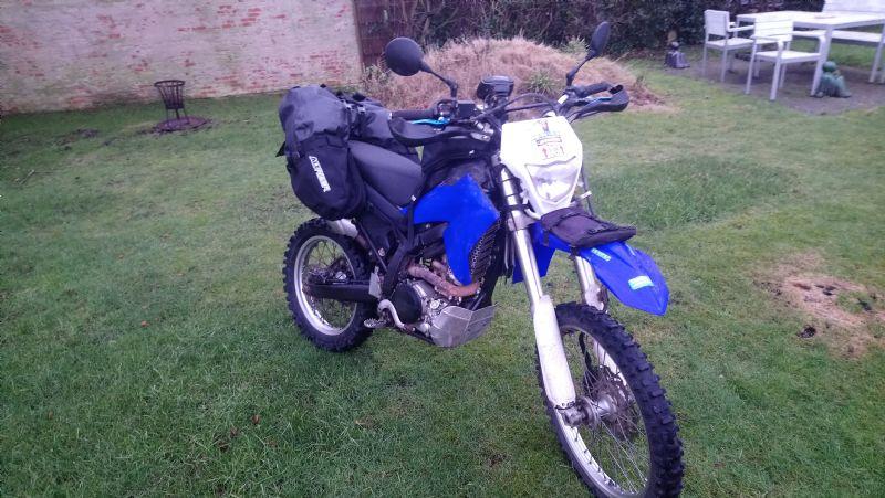 Wr250r equipped as a lightweight adventurebike Alt3